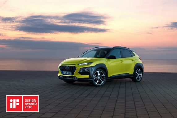 Hyundai Kona e i30 Fastback premiate agli iF Design Awards 2018