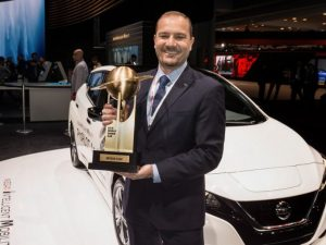 Nuova Nissan Leaf eletta World Green Car of the Year 2018