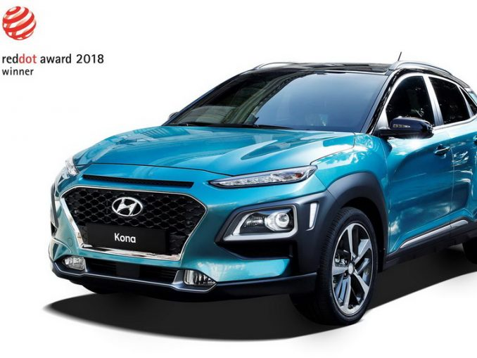 Hyundai Kona e NEXO premiate ai Red Dot Design Awards 2018