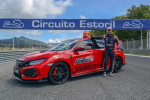 Nuovo record per la Honda Civic Type R sul circuito dell'Estoril