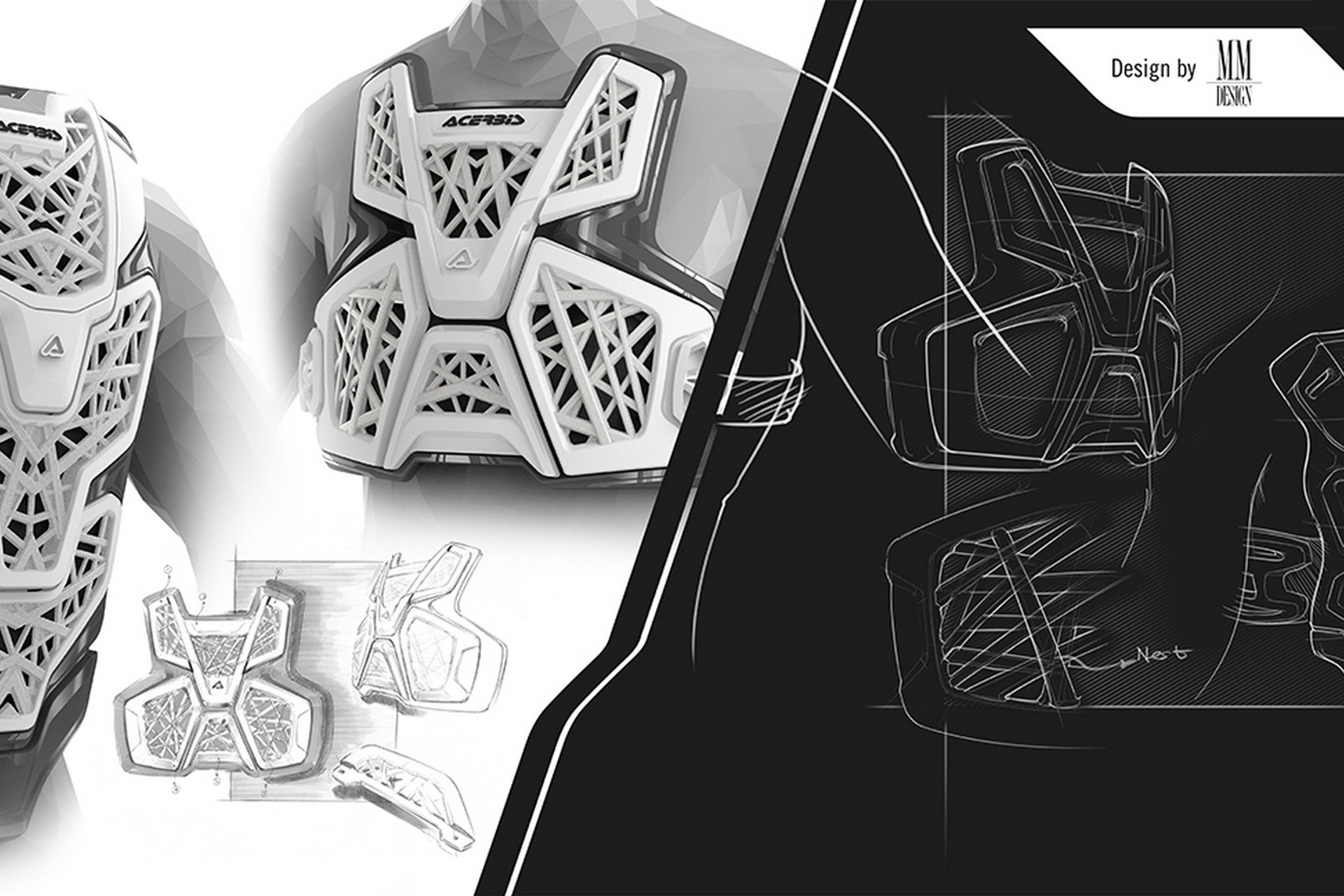 Eicma 2018, Acerbis Galaxy Chest Protector: materiali innovativi per le protezioni