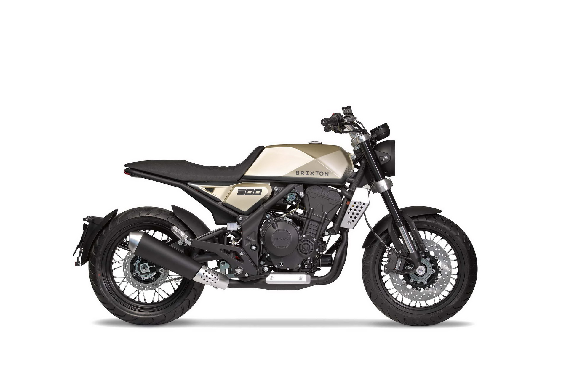 Brixton con due concept bike da 500 CC all'Eicma 2018
