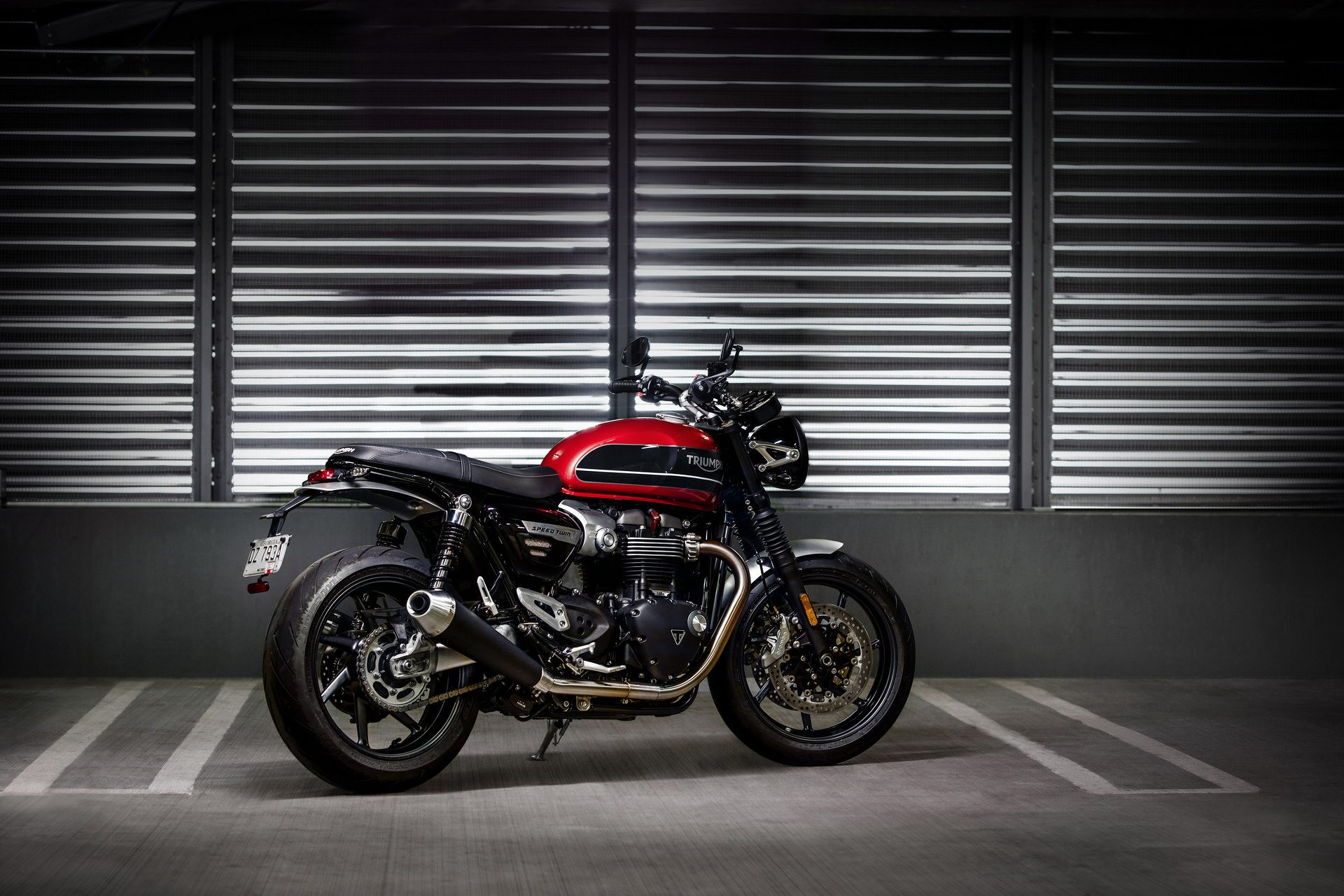 Nuova Triumph Speed Twin, tanta la tecnologia a bordo