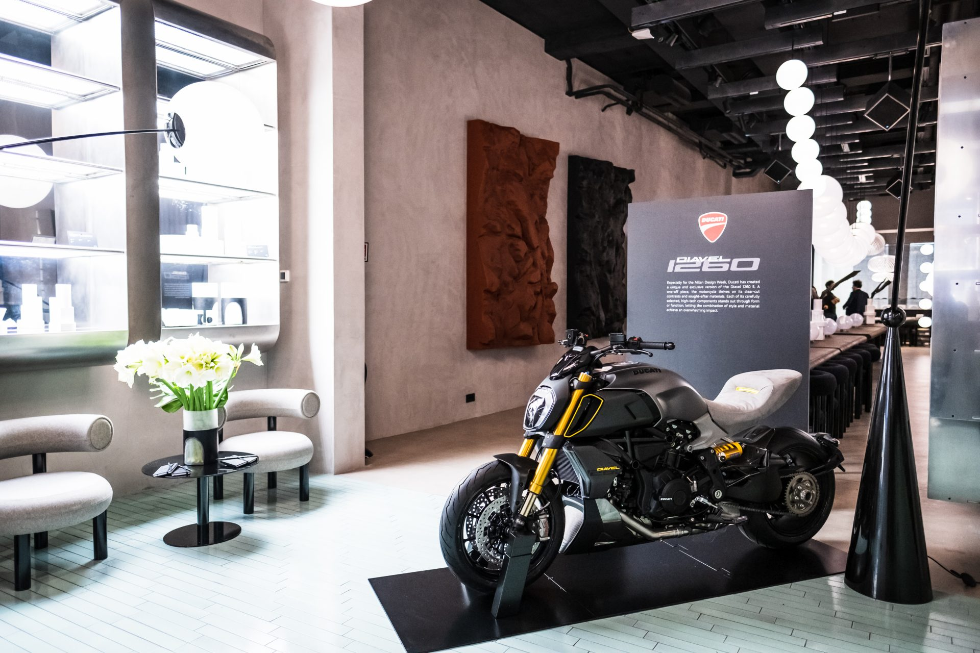 Ducati e Diavel 1260 alla Milano Design Week