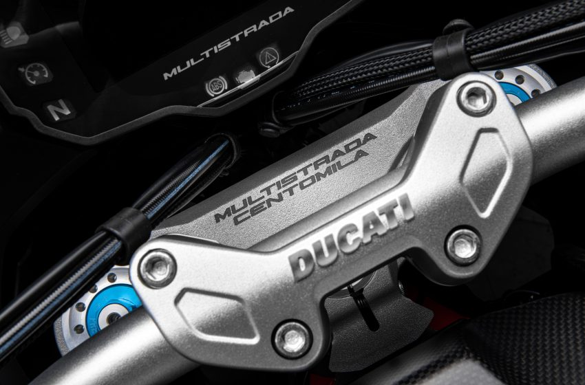 La Ducati Multistrada a quota 100.000