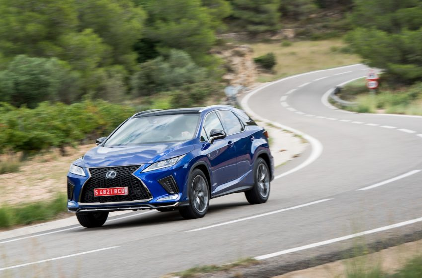 Lexus RX, sul modell F Sport disponibile l' Active Stabiliser Suspension