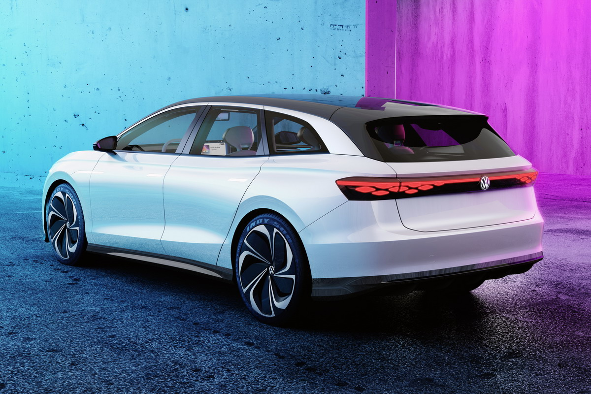 Salone di Los Angeles 2019, Volkswagen ID. Space Vizzion: l'uomo al centro di tutto
