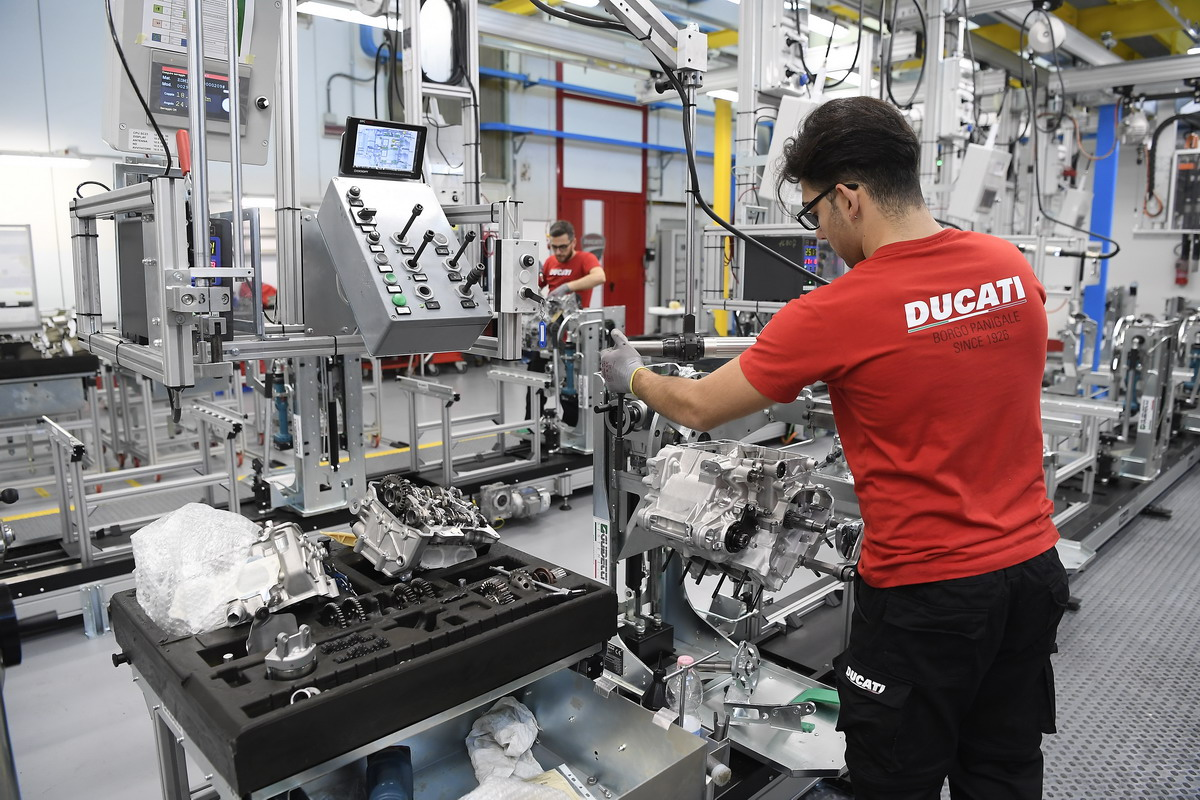 "Ducati certificata ""Top Employer Italia 2020"""
