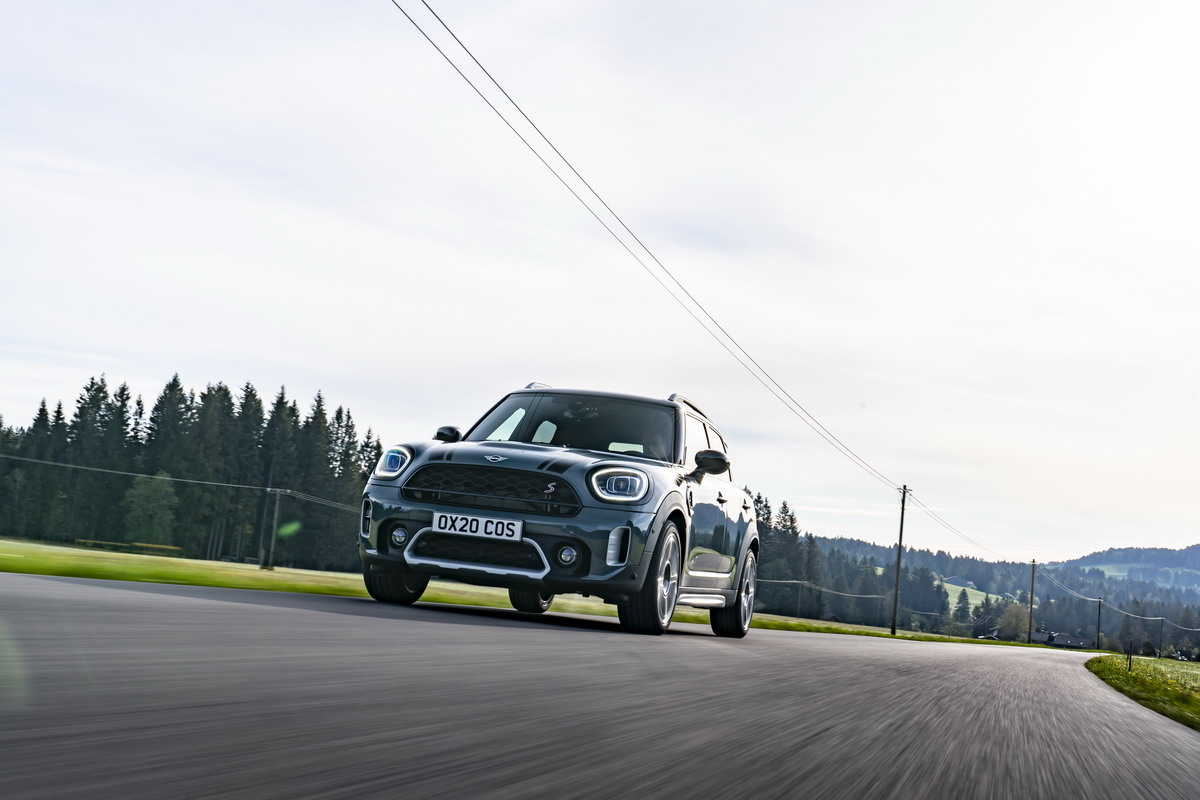Nuova Mini Countryman, motori TwinPower Turbo