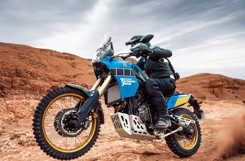 Yamaha Ténéré 700 Rally Edition: tornano i colori iconoci